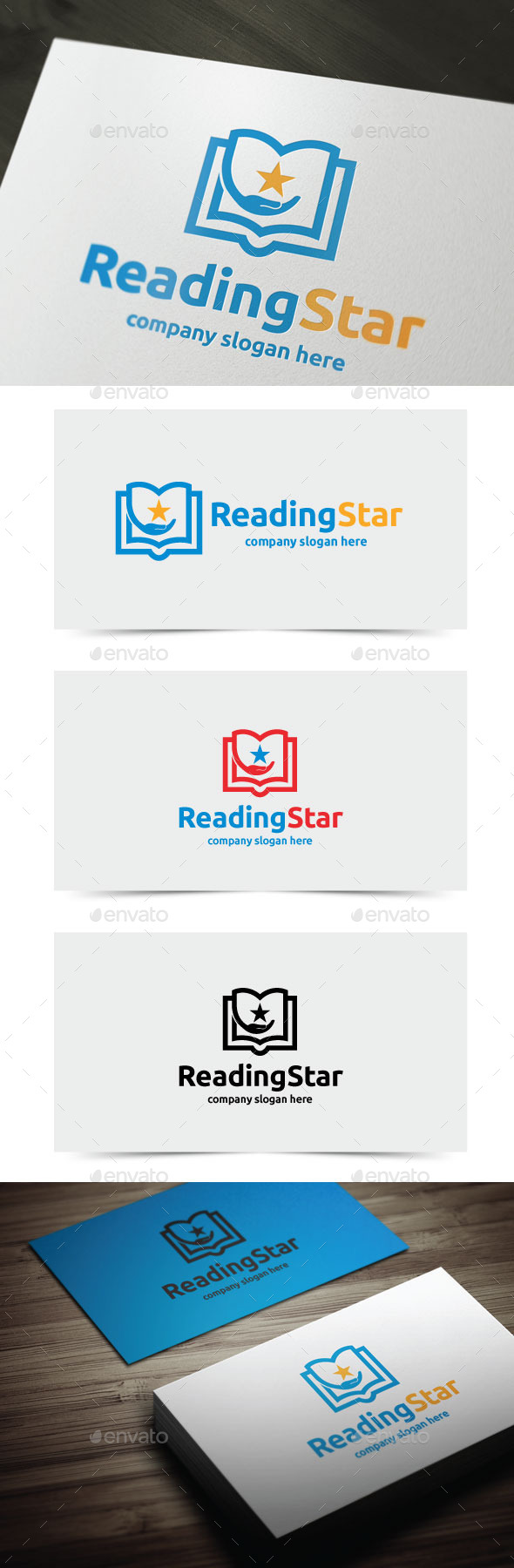 GraphicRiver Reading Star 11453837