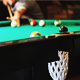 Man Scores a Billiard Ball in the Hole - VideoHive Item for Sale