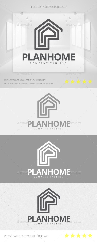 GraphicRiver Plan Home Logo 11454030