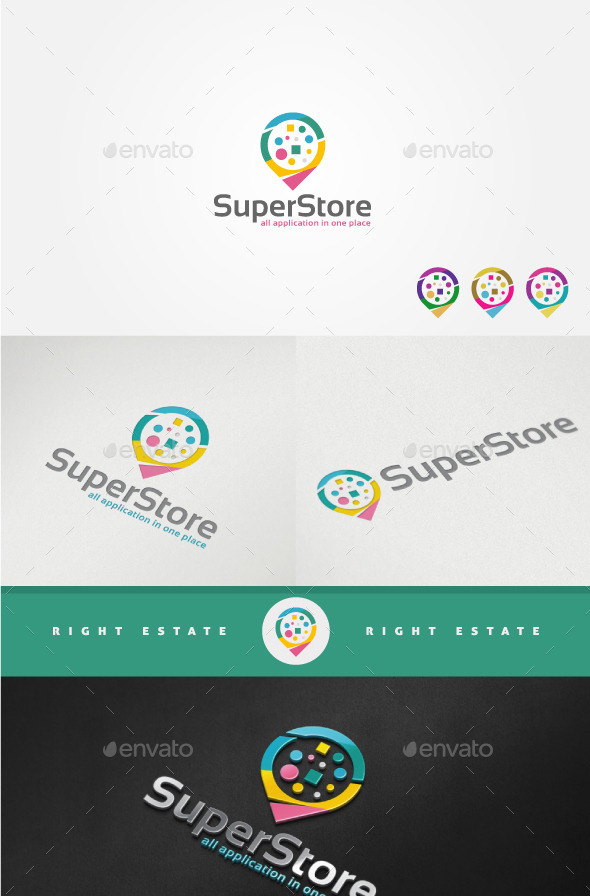 GraphicRiver Online Store Logo Template 11454108