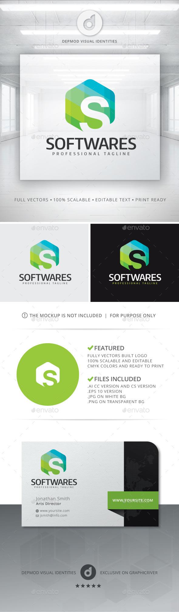 GraphicRiver Softwares Logo 11454120
