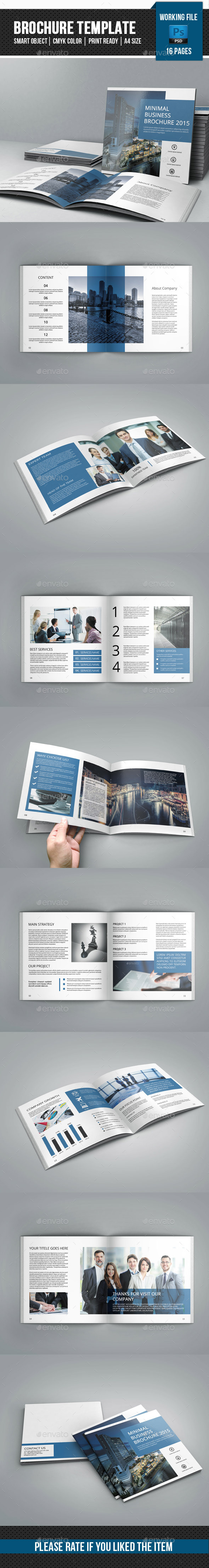 GraphicRiver Corporate Square Brochure-V26 11454161
