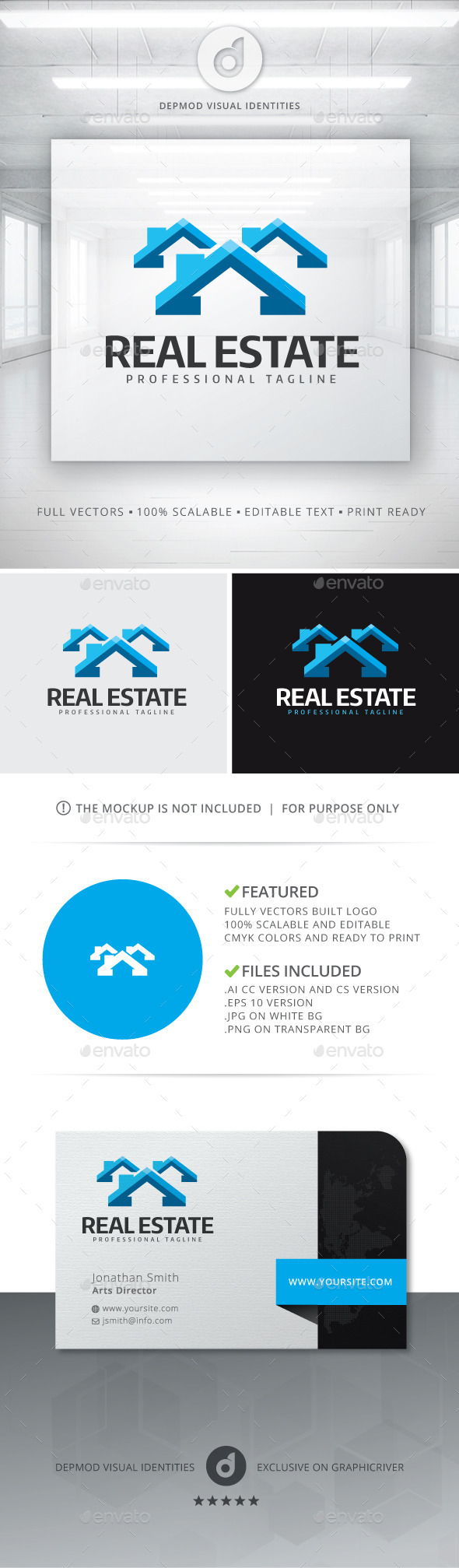 GraphicRiver Real Estate Logo 11454192