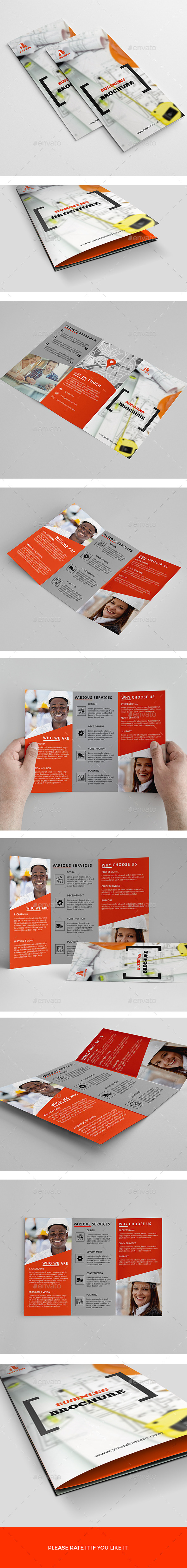 GraphicRiver Brochure-Trifold 11394021