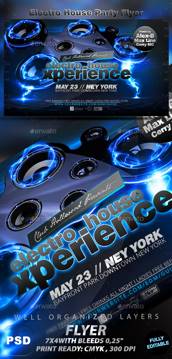 GraphicRiver Electro House Party 11454267
