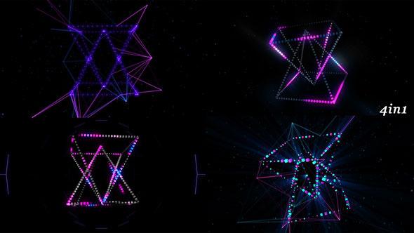Orbital Hologram 4-Pack