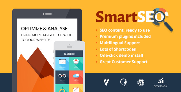 ThemeForest - SmartSEO v1.6.1 - SEO & Marketing Services