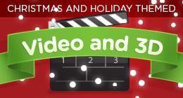 Christmas Video & 3D