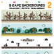 8 Game Backgrounds Set 2 - GraphicRiver Item for Sale