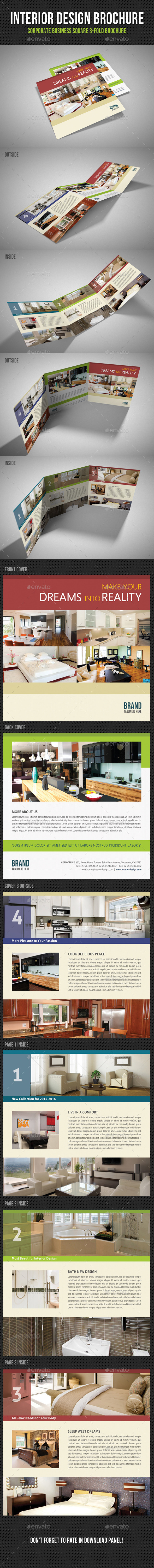 GraphicRiver Interior Design Square 3-Fold Brochure V07 11454462