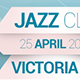 Jazz Art Party Presents Facebook Cover - GraphicRiver Item for Sale