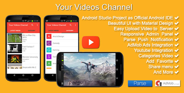 CodeCanyon Your Videos Channel 11395325