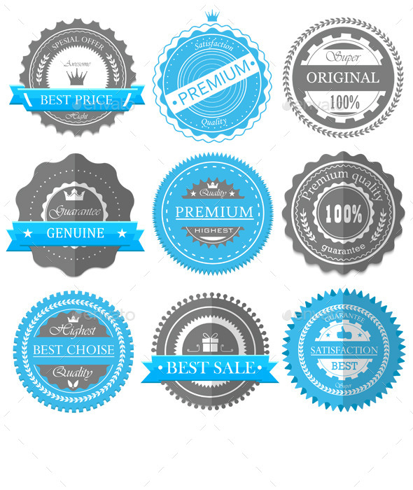 GraphicRiver Guarantee Badges 11454563