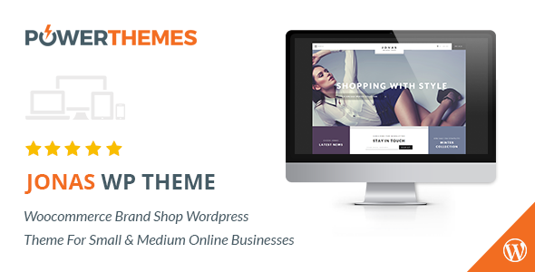 ThemeForest Jonas Woocommerce Brand Shop WP Theme 11454661