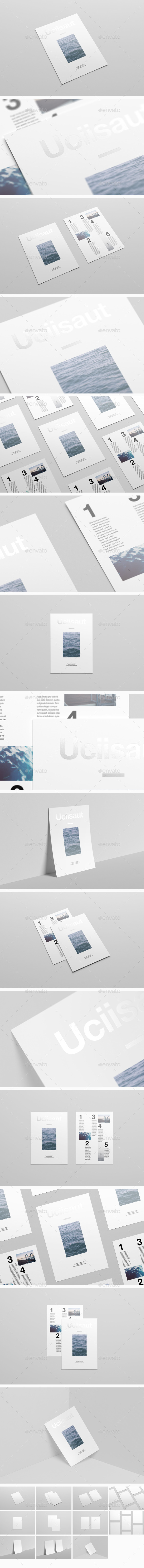 GraphicRiver A4 Flyer Mock-Up 11454795
