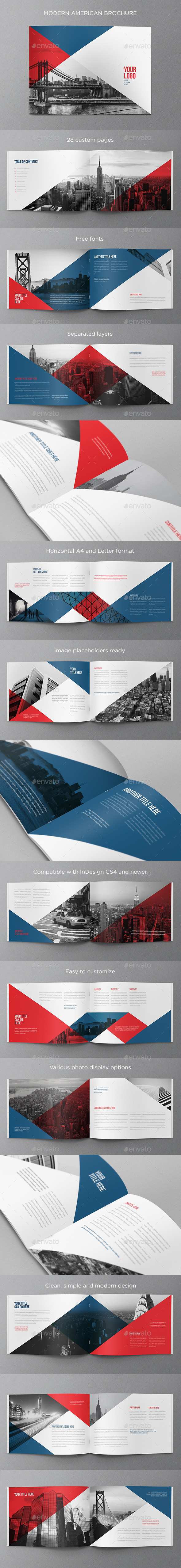 GraphicRiver Modern American Brochure 11454850