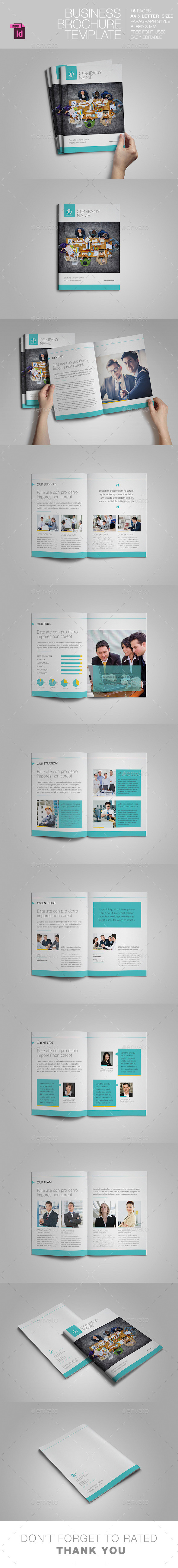 GraphicRiver Business Brochure Template 11454885