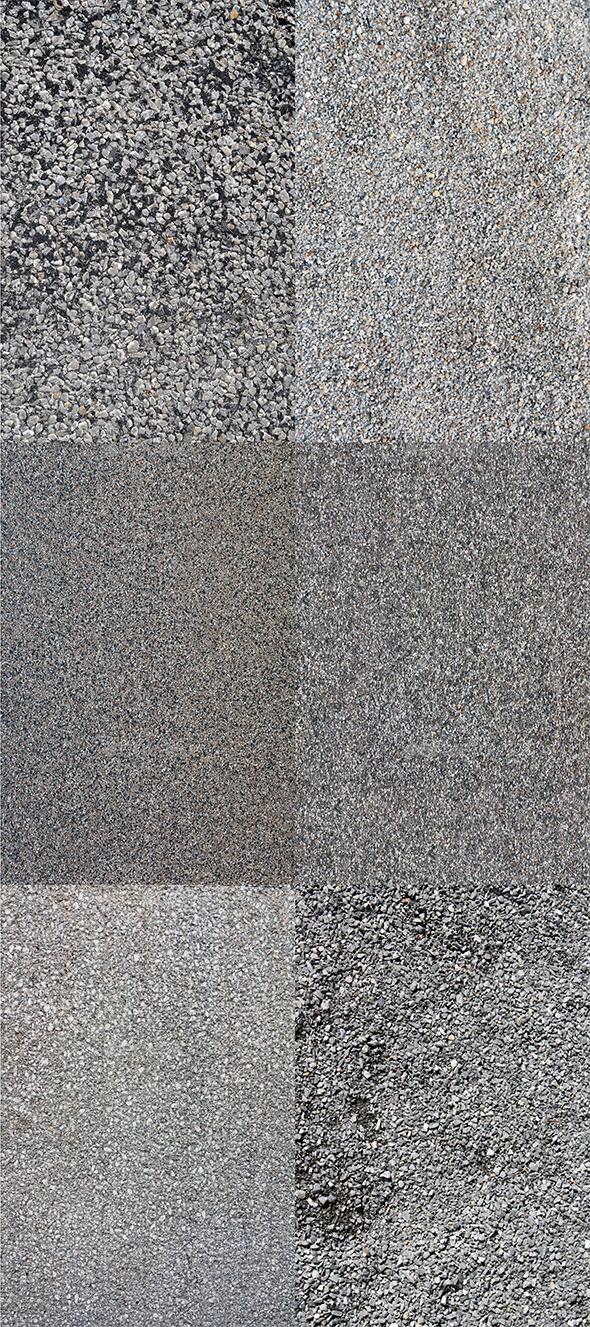 GraphicRiver 6 HD Gravel Textures 11454920