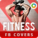 Fitness Facebook Covers - 2 Designs - GraphicRiver Item for Sale