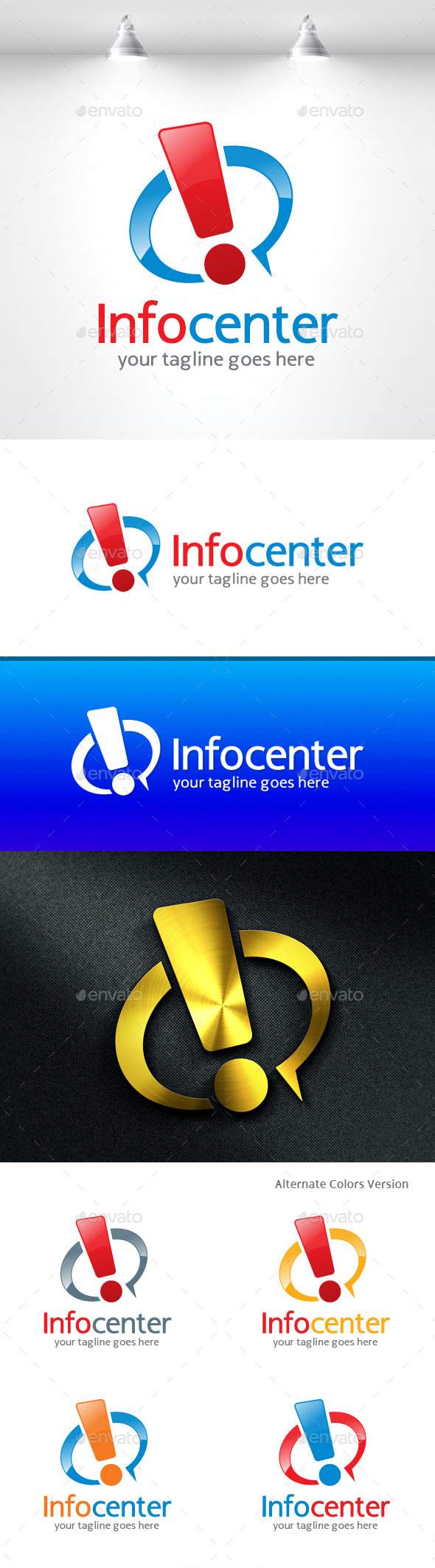 GraphicRiver Info Center Logo 11454932