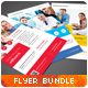 Multipurpose Corporate Flyers Bundle 3in1 vol. 4 - GraphicRiver Item for Sale
