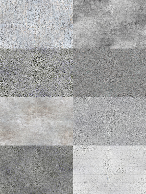 GraphicRiver 8 HD Seamless Wall Textures 11455098