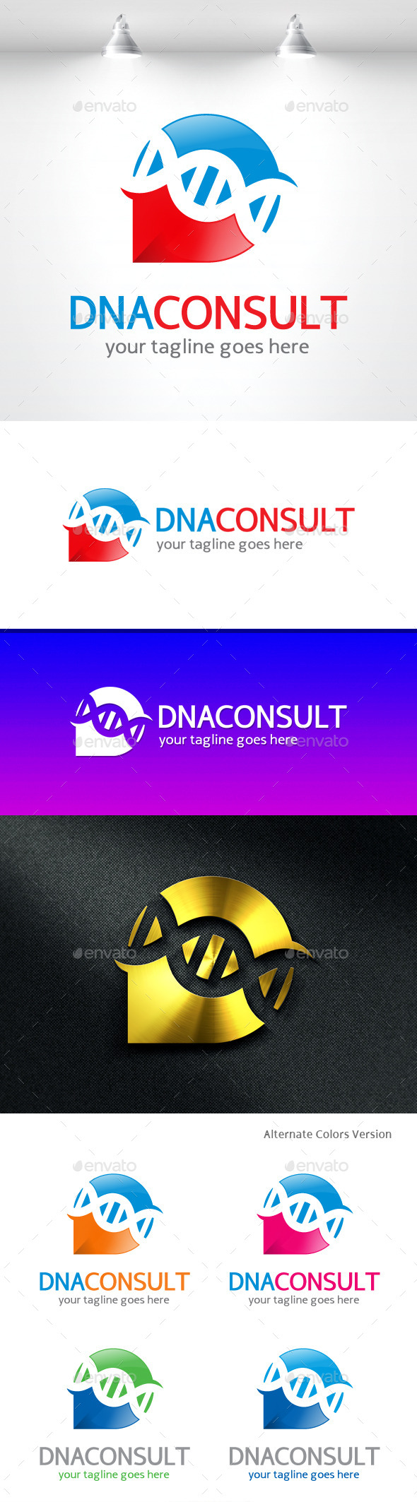 GraphicRiver DNA Consulting Logo 11454777