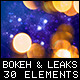 Art Bokeh and Light Leaks - VideoHive Item for Sale