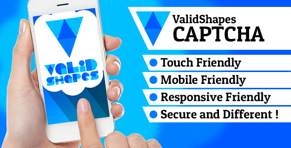 CodeCanyon ValidShapes CAPTCHA 11423121