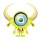 Green Cartoon Monster - GraphicRiver Item for Sale