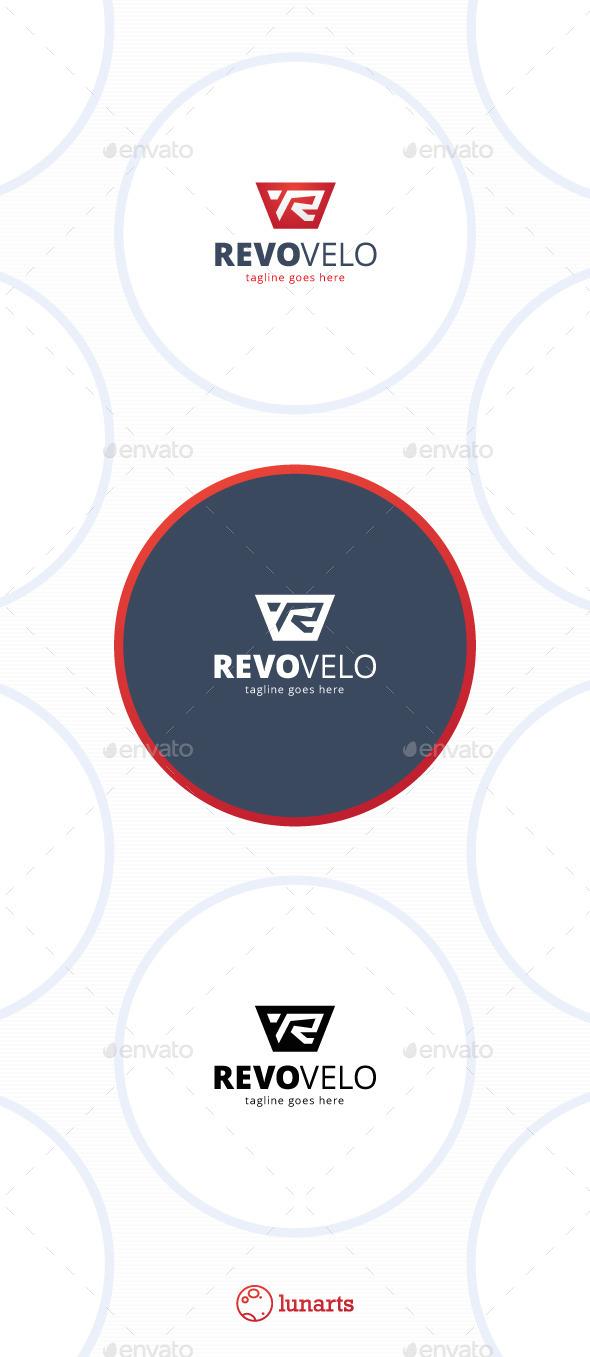 GraphicRiver Revolutionary Cycling Logo Letter R 11455372