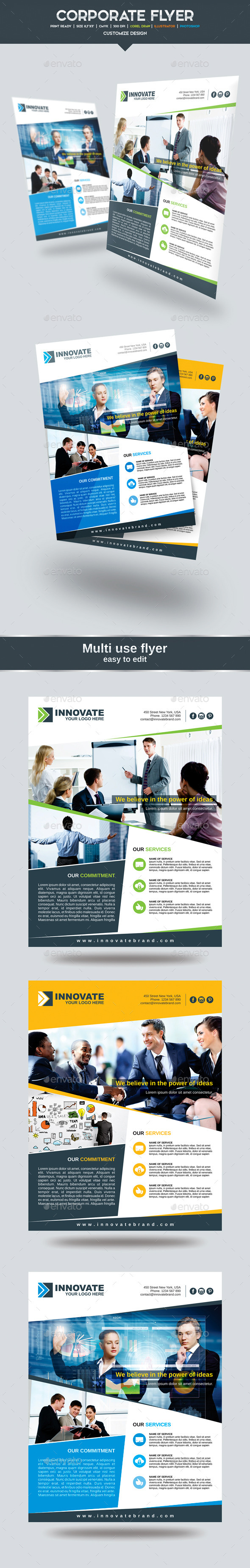 GraphicRiver Corporate Proffesional Flyer 11455471