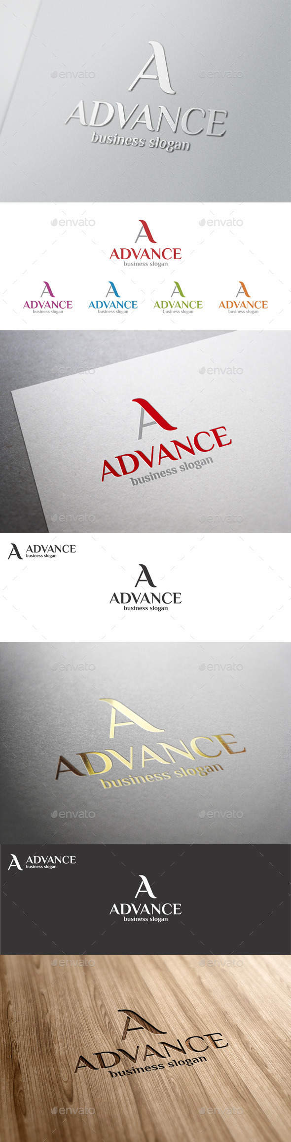 GraphicRiver A Logo Letter Template Advance 11456084