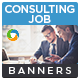 Consulting Banners - GraphicRiver Item for Sale