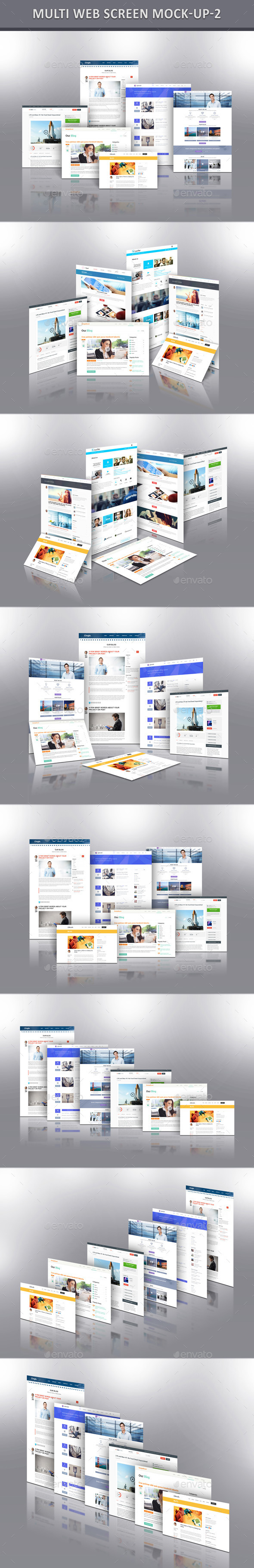 GraphicRiver Multi Web Screen Mock-Up 2 11456106