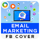 Email Marketing Facebook Cover - GraphicRiver Item for Sale