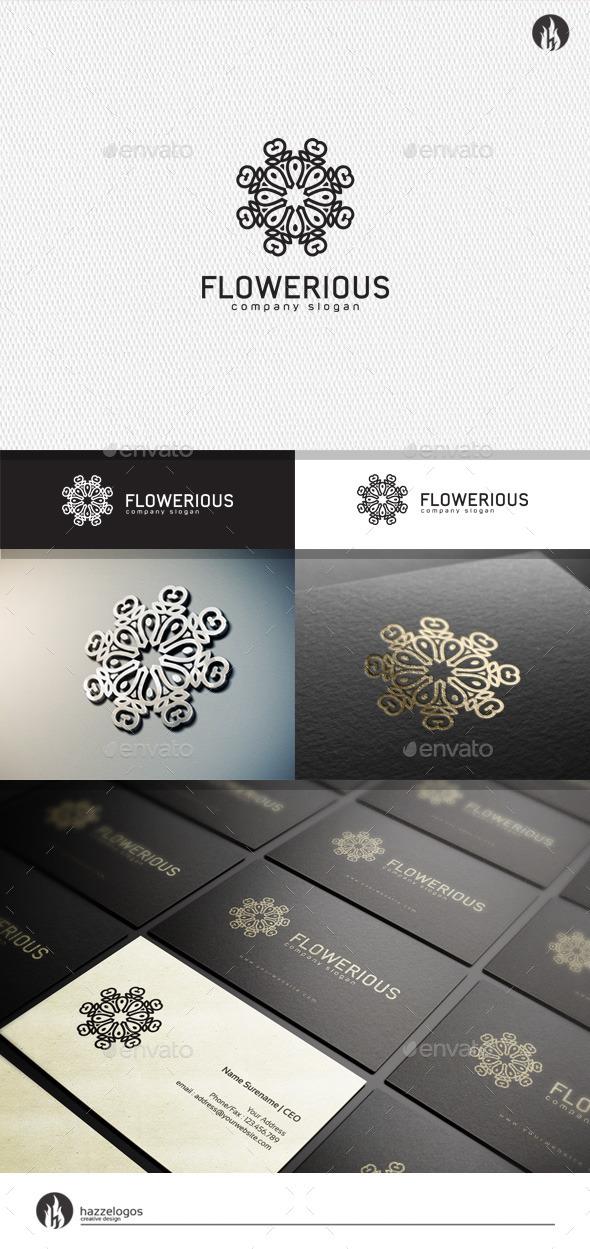 GraphicRiver Flowerious Logo 11456389