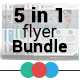 Modern Agency Flyers Bundle - GraphicRiver Item for Sale