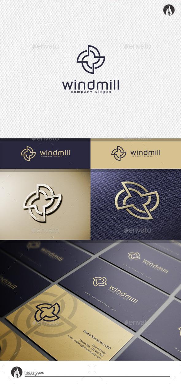 GraphicRiver Windmill Logo 11456408