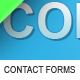 5 stylish web 2.0 contact forms. - GraphicRiver Item for Sale