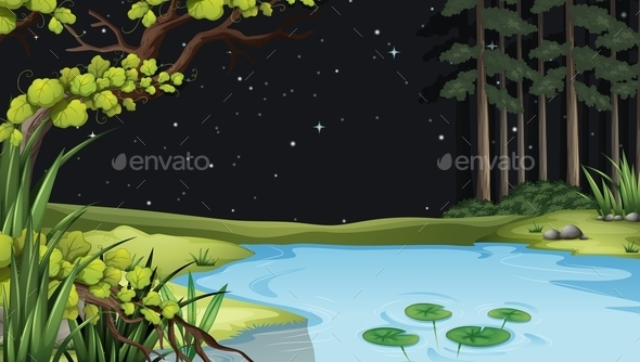 GraphicRiver A Waterform at the Forest 11456472