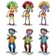 A Group of Zombies - GraphicRiver Item for Sale