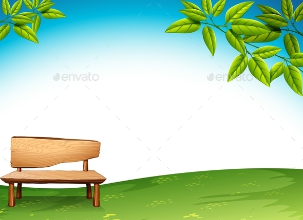 GraphicRiver A Wooden Bench 11456504