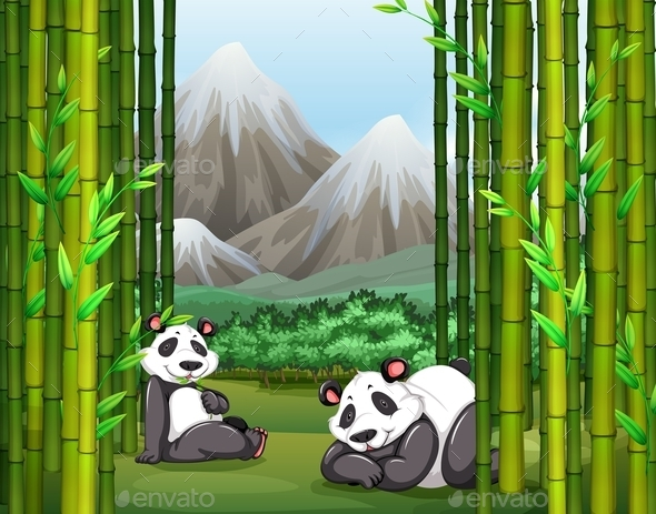 GraphicRiver Panda 11456512