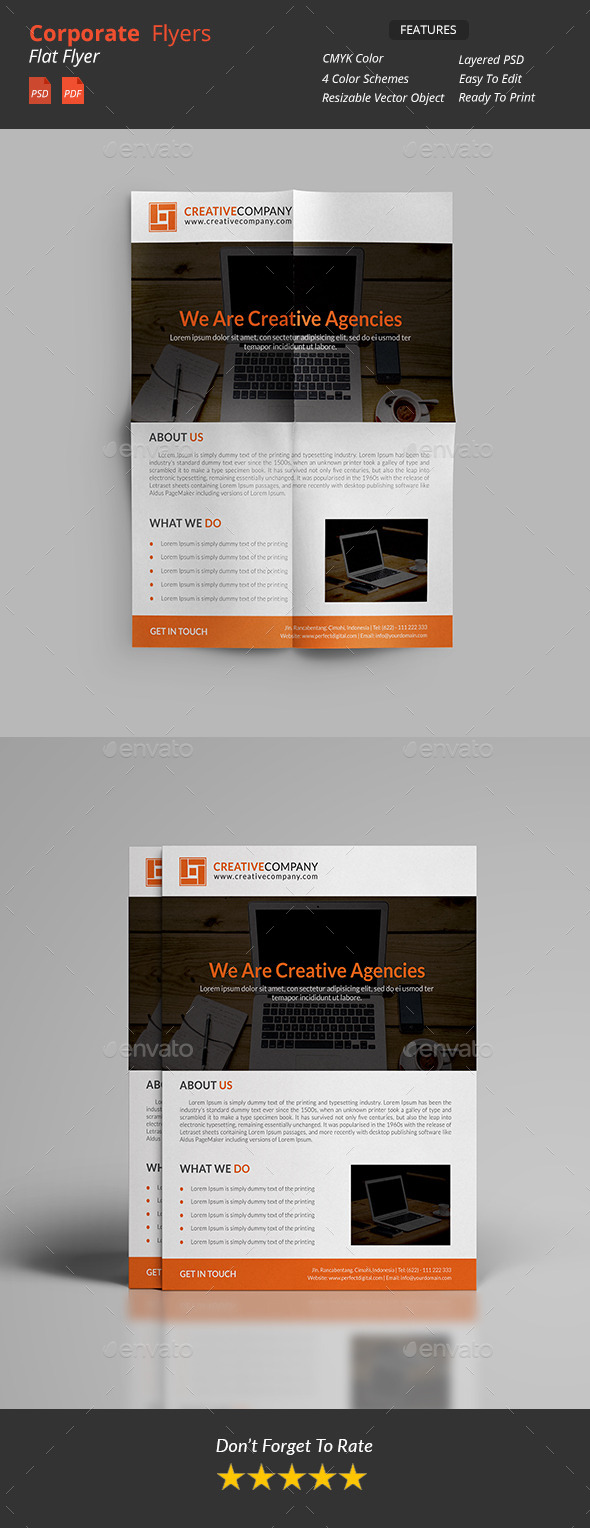 GraphicRiver Corporate Flyers 11456623