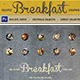 Rustic Breakfast Menu - GraphicRiver Item for Sale