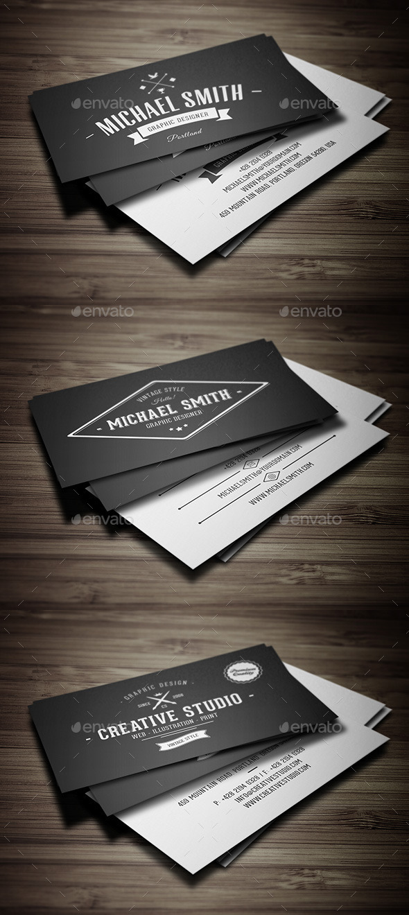 GraphicRiver Business Cards Bundle 11456663
