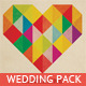 Wedding Invitation Package - I Heart You - GraphicRiver Item for Sale