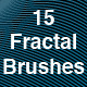 15 Fractal PS Brushes - GraphicRiver Item for Sale