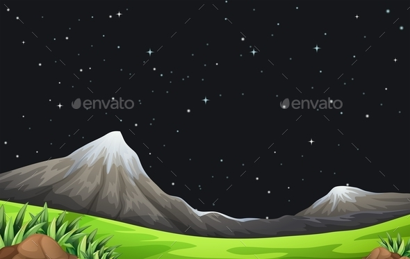 GraphicRiver A Night Scene 11456988